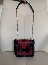 NWT Alexander McQueen Red Black Pattern Shoulder Bag
