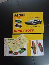 coffret cadeau CARABO BERTONE,   rouge et  verte;dinky toys atlas neuf