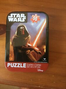 Star Wars jigsaw puzzle 50 pieces In A Sealed Tin NewTravel Size Easter Gift