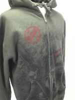 STAR WARS Celebration Hoodie Jacket Anaheim 2015 Zip Up Olive Green Mens L RARE