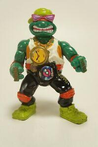 1991 TMNT Teenage Mutant Ninja Turtles Rappin' Mike Action Figure