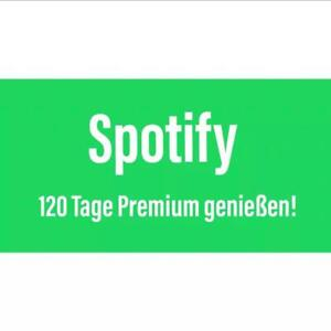 4 Monate Spotify Premium