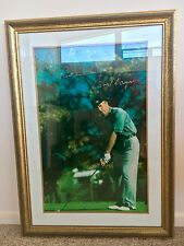 Gary Player Golfer Signed Print 70.4cm x 101cm