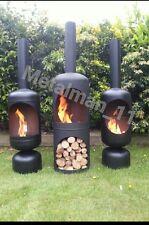 Gas bottle log burner, wood burner, firepit, chiminea, patio heater outside heat