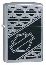 Zippo Harley Davidson Bar & Shield Logo, Street Chrome Windproof Lighter #29905