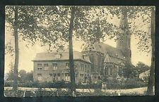 Kerkgebouw (Meppel?) gaatjes van punaises