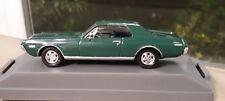 Diecast 1:43 Dark Green 1968 Mercury Cougar XR7 302 V-8 Perfect in Showcase