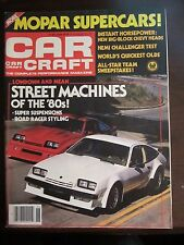 Car Craft Magazine June 1979 Street Machines of the 80's Newsstand VV OO T Y2