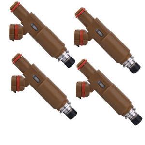 4pcsGenuine Fuel injectors 23250-74170 For Toyota Rav 4 SXA11  (3S-FE) 2.0L 4CYL