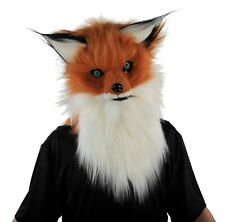 20-Inch Giant Angry Fox Animal Mask - Horror Halloween Costume Accessory #C465