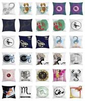 Zodiac Scorpio Throw Pillow Cases Cushion Covers by Ambesonne Home Decor 8 Sizes