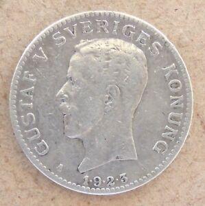 1923 Sweden Silver Krona.