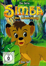 Simba Der Löwenkönig-Die Serie (2008) - 3 DVD´s - neu & ovp