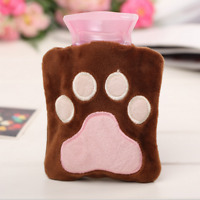 High Quality Hot Water Bag Child Pet Hand Warmer Bottle Mini Size with Cover 1pc