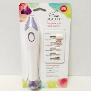 Clio Design Plum Beauty Complete Nail Care System Salon Quality Results NEW