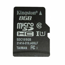 10pcs Kingston 8GB Micro SD SDHC C10 With ADAPTER  8GB TF Memroy Card Micro SD