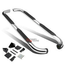 """FOR 98-11 FORD RANGER EXT CAB 3""""CHROME ROUND SIDE ASSIST STEP BAR RUNNING BOARD"""