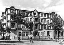 "AK, Seebad Ahlbeck auf Usedom, FDGB-Erholungsheim ""Kurt Bürger"", Haus 1, 1969"