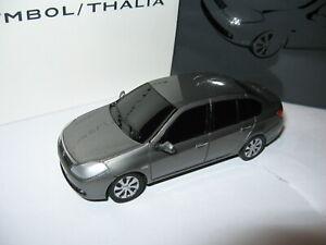 RENAULT Clio Symbol Thalia - grey - NOREV x Boutique Renault - Resine special ed