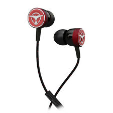 Tiësto Audiofly Clublife Maximal SingleDriver Isolating Earphones+mic Red Refurb