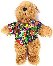 2005 Hard Rock Cafe Herrington Collectible Plush MAUI Plush Teddy Bear w/ Tag