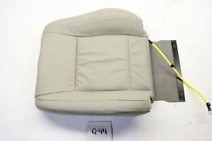 NEW OEM MONTERO PAJERO 07-15 BEIGE LEATHER UPPER SEAT COVER LEFT LH