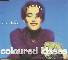 MARTIKA Coloured Kisses 7 INCH EDIT & REMIX Europe CD single SEALED USA seller