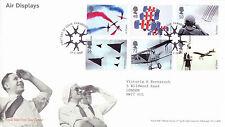 17 de Julio de 2008 aire muestra Royal Mail primer día cubierta Farnborough Hants Shs
