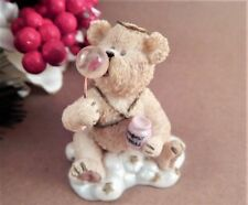 Angel Bear Boyds Bears & Friends Lil Wings Bubbles Figurine 2002 Collectible