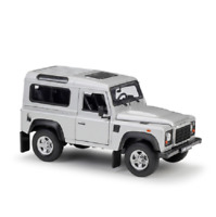 Welly 1:24 Land Rover Defender Diecast Model SUV Car Silver NEW IN BOX