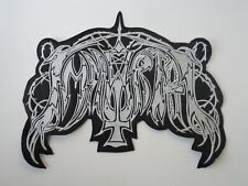 IMMORTAL OLD LOGO EMBROIDERED BACK PATCH
