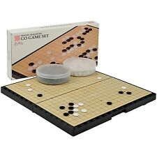 Magnetic Go Game Set with Go Board (14.7 Inches x 14.6 Inches) and Single Con...