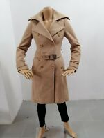 Cappotto PATRIZIA PEPE Donna Taglia Size 40 Jacket Woman Veste Femme Lana P 7462