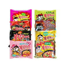 Samyang Fire Spicy Noodles Challenge Hot Chicken Korean Flavors  X1 or X5 Halal