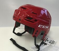 New CCM Resistance 100 Olympics Pro Stock/Return small S red ice hockey helmet