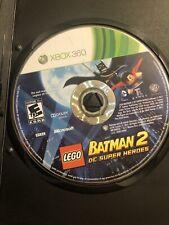 LEGO Batman 2: DC Super Heroes (Microsoft Xbox 360, 2012) Disc Only