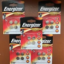 20 x Energizer LR44 1.5V Alkaline Battery A76 AG13 PX76A Batteries UK