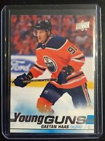 2019-20 Upper Deck Young Guns Gaetan Haas #232