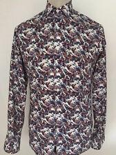 DUCHAMP Mens Floral Shirt Size Medium