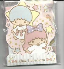 Sanrio Little Twin Stars Mini Stationery Set With Stickers Confetti