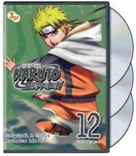 Naruto Shippuden: Uncut Set 12 [New DVD] Full Frame, Subtitled, Uncut