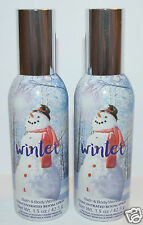 2 BATH & BODY WORKS WINTER CONCENTRATED ROOM SPRAY PERFUME MIST AIR FRESHENER