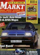 Markt 8/00 2000 Alfa Giulia Aston Martin DB 2 2/4 Fiat Neckar Manta B Spyker C4
