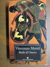 ILIADE DI OMERO Vincenzo Monti A cura di Manara Valgimigli e Carlo Muscetta 2002