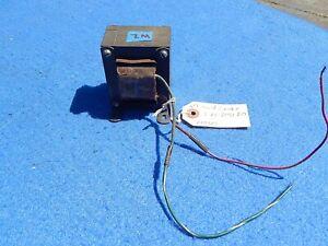 Wurlitzer Transformer # 21550: Amplifier 660 661 Power Filter Choke L-2