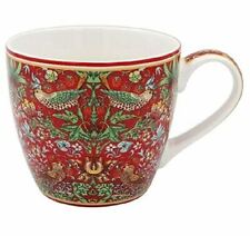 William Morris Ladrón Fresa Roja China Taza de Café Taza de desayuno NUEVO Caja De Regalo