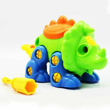 Child Removable Screw Dinosaur Building Toy Plastic Stegosaurus Assembly Toys
