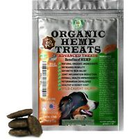 Organic Hemp Treats for Dogs, Anxiety Relief, Wild-Caught, Salmon, 60 Soft Chews