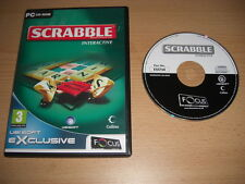 SCRABBLE Interactive 2007 Edition Pc Cd Rom FO - FAST SECURE DISPATCH