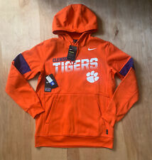 Nike Mens Clemson Tigers Official NCAA Therma-Fit Pullover Hoodie Size M $90